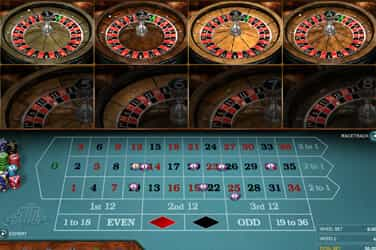 Multi Wheel European Roulette Gold