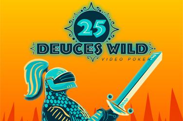 Deuces Wild - 25 Line