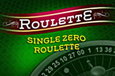Roulette Single-Zero